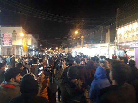 تظاهرات في مدن جنوبية احتجاجاً على ترشيح العيداني