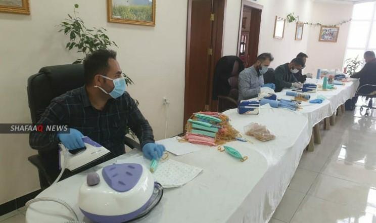 صور.. حملة استثنائية في دهوك لمواجهة فيروس كورونا