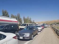 بالصور.. اغلاق طرق وتشديد الاجراءات في كوردستان