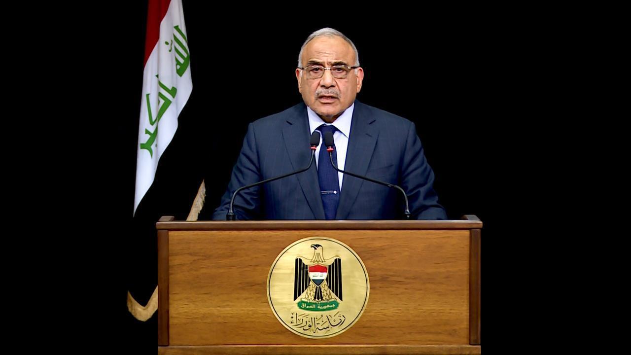 عبد المهدي: اصدرنا تعليمات مشددة بعدم استخدام الرصاص الحي ضد المتظاهرين
