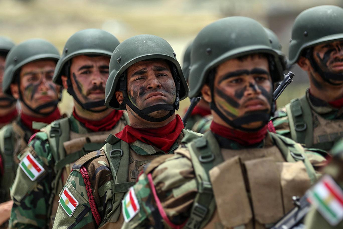 قضي الامر.. القوات الكوردية تضع قدما باول مناطق النزاع