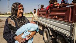 دهوك تعلن استقبال 12 الف نازح من كوردستان سوريا