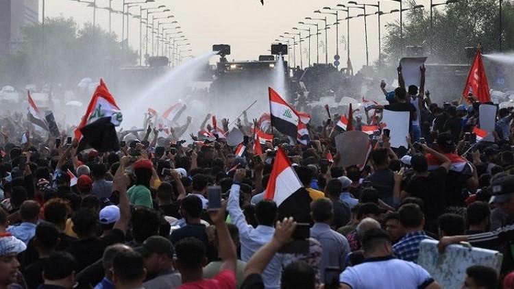 """عمليات بغداد تكشف عن """"تطور خطير"""" في التظاهرات"""