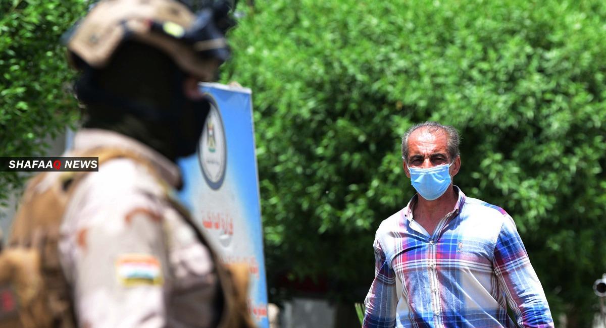Covid-19: arresting curfew violators in Al-Sulaymaniyah