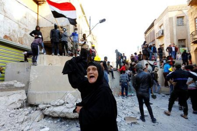 بيان من محتجي ساحة التحرير