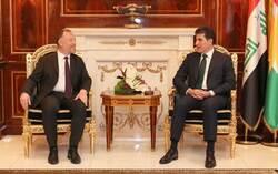 نيجيرفان بارزاني: ينبغي حل المسألة الكوردية في تركيا بالطرق السلمية