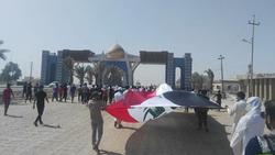 اعتصام سفوان يدخل يومه السادس وكشف حقيقة قطع الطرق المؤدية لحقول النفط