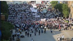 صور.. العتبات الدينية تؤيد المحتجين في كربلاء