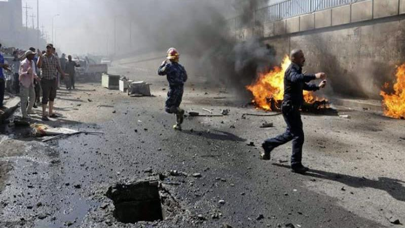 سبعة تفجيرات تضرب بغداد وتوقع إصابات