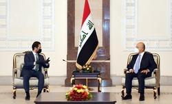 الرئيس العراقي يحث لحلول جذرية لمشاكل بغداد وإقليم كوردستان