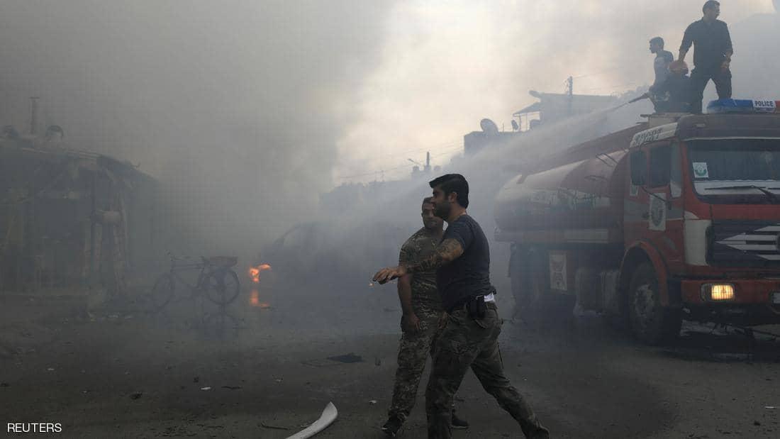 انفجار عنيف يهز مدينة القامشلي