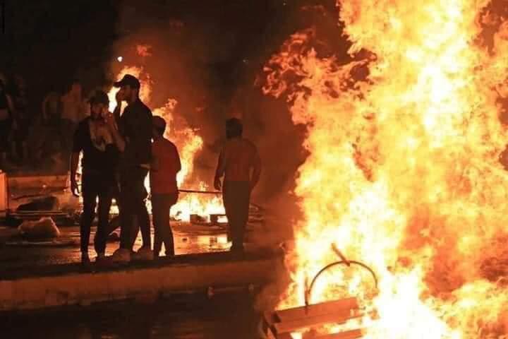 تظاهرات ليلية جنوب العراق بأول تصعيد احتجاجي ضد حكومة الكاظمي