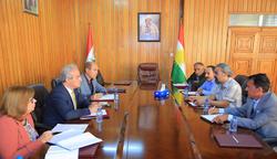 برلمان كوردستان والشيوعي يبحثان ملف العمال في الاقليم