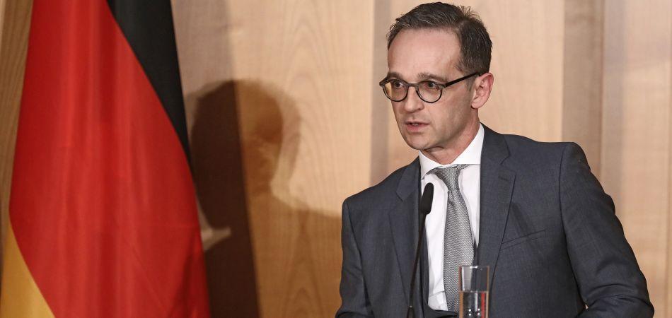 وصول وزير الخارجية الالماني الى بغداد
