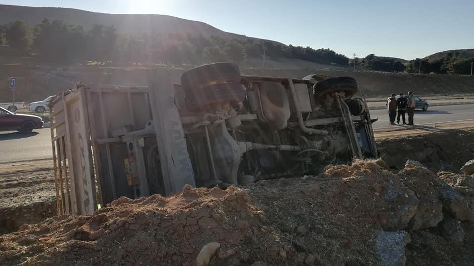 وقوع اصابات بحادث سير على طريق كركوك - السليمانية