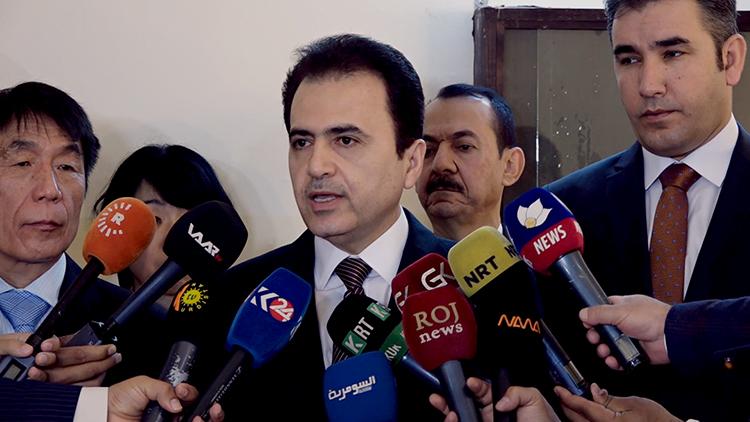 حكومة الاقليم توفر دعما للمستثمرين اللبنانيين العاملين في كوردستان