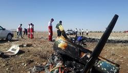 مصرع شخصين بتحطم طائرة ايرانية