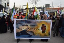 تظاهرة في السليمانية للمطالبة بتحرير اوجلان