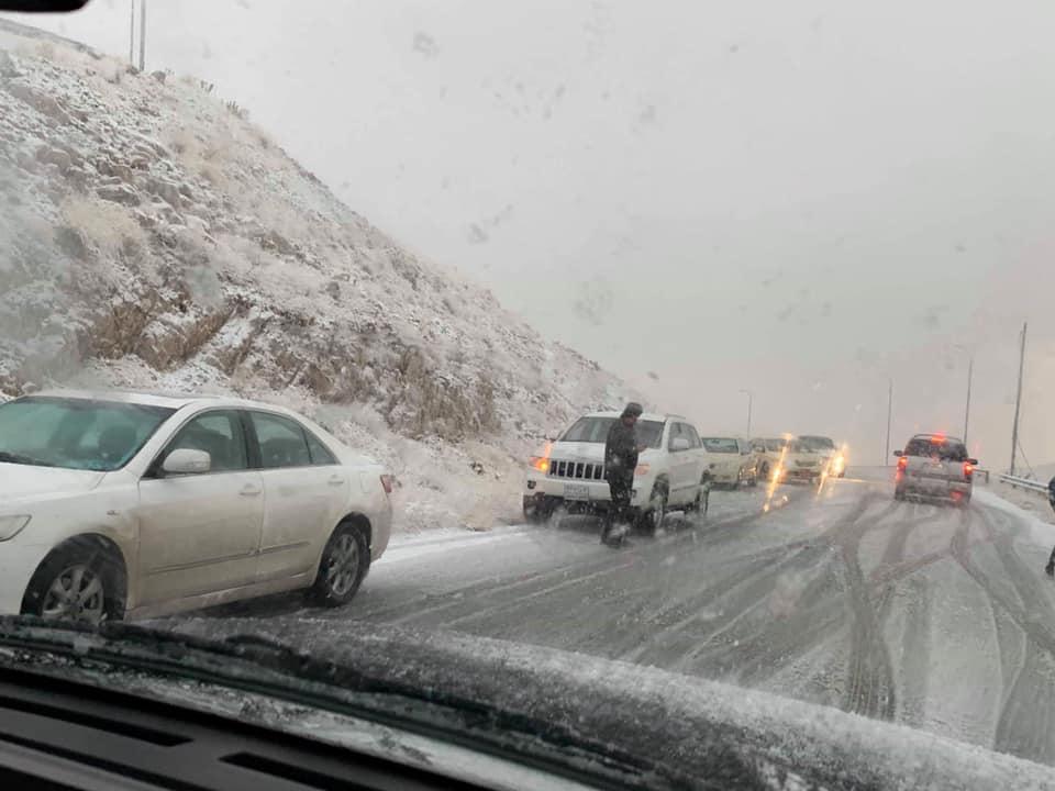 مناطق في اقليم كوردستان تسجل انخفاضا كبيرا في درجات الحرارة