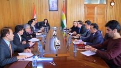 """الثقافة البرلمانية الكوردستانية تبحث مع نقابة الصحفيين أوضاع """"السلطة الرابعة"""""""