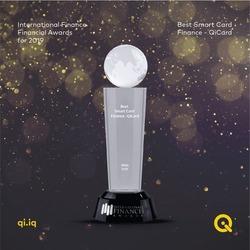 شركة كي. تفوز بجائزة دولية كأفضل بطاقة ذكية