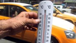 متنبئ جوي: معدلات درجات الحرارة في العراق تبقى مرتفعة حتى بداية ايلول