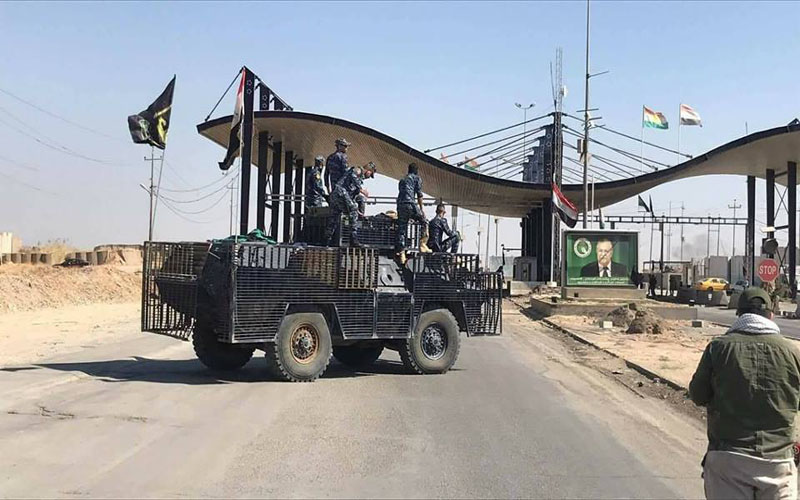 Intense warplanes in Kirkuk's skies and a security source reveals the reason