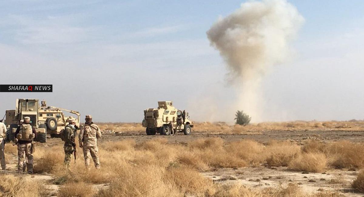 سقوط 3 ضحايا واصابة اخرين من الحشد الشعبي بتفجير في ديالى