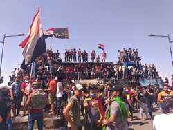 Tensions return to the protests' scene in Iraq