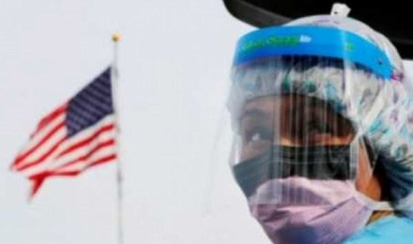 قرابة 60 الف حالة .. امريكا تسجل اعلى رقم في اصابات كورونا