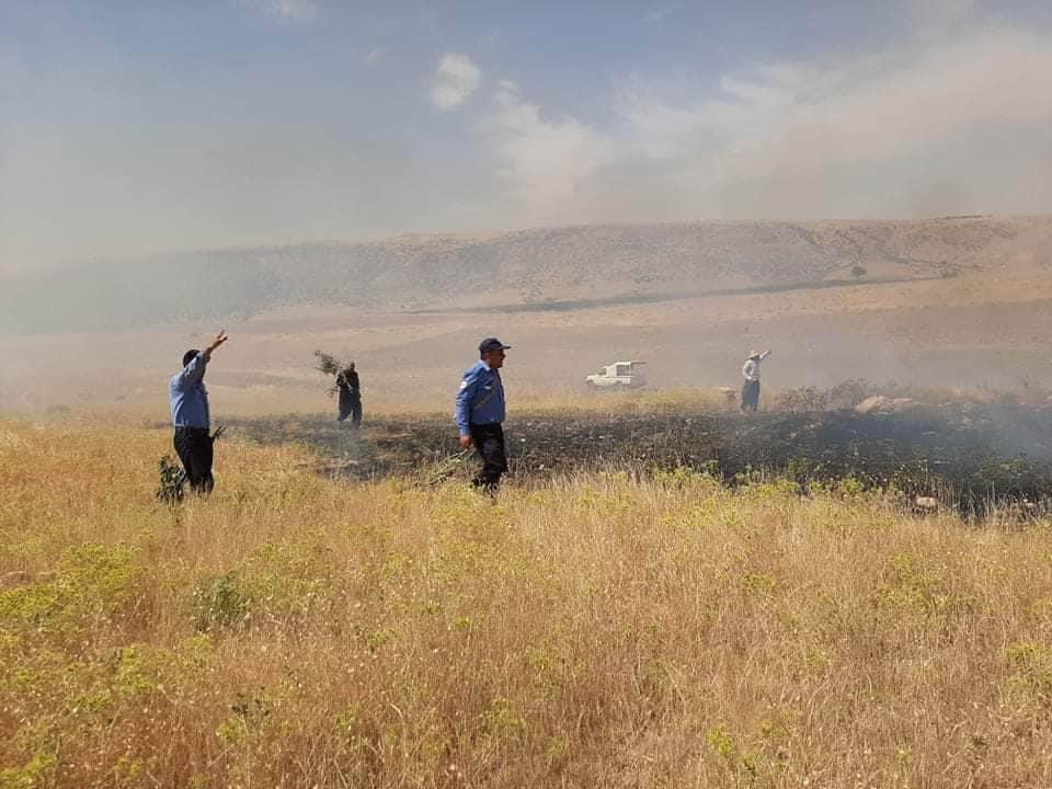 Massive fire in Al-Sulaymaniyah