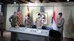 التحالف الدولي يسلم موقعاً عسكرياً جنوبي بغداد إلى القوات العراقية