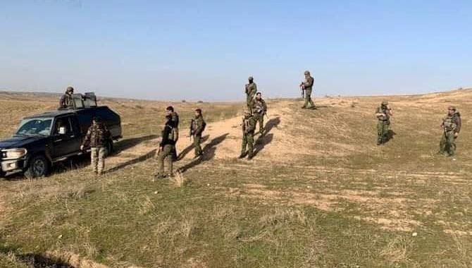 Anti-terrorist coordination between Iraqi army and Peshmerga