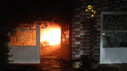 اندلاع النيران في مكتب نائب بالبرلمان العراقي واذاعة محلية