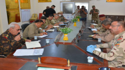The first security meeting between the Iraqi army and the Peshmerga in Diyala