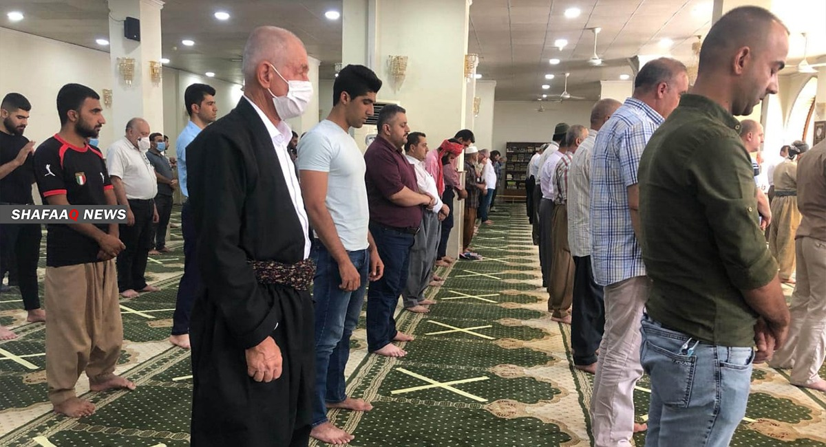 Erbil prohibits Eid prayers and visiting graves
