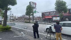 Big explosion in Fukushima
