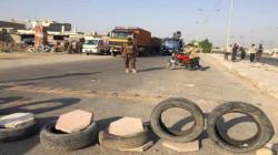 للمرة الثانية في أقل من اسبوع.. متظاهرون يقطعون طريقاً رئيساً في ديالى