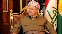 مسعود بارزاني يوجه رسالة الى الجهات السياسية بإقليم كوردستان