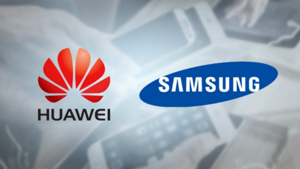 Huawei on the top for the first time