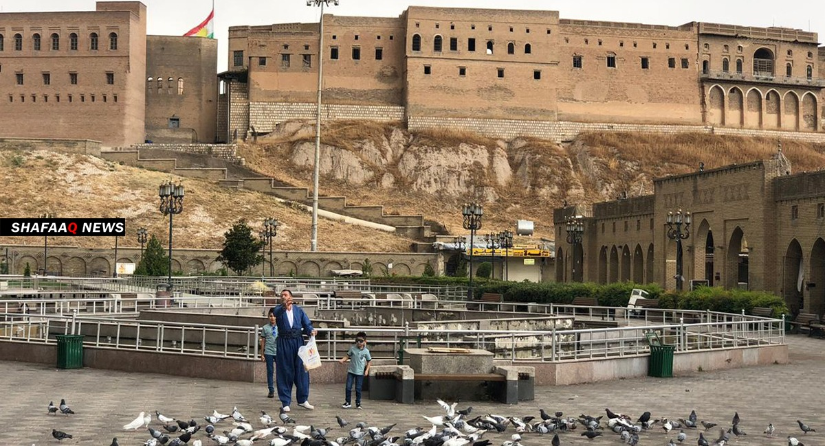 A report shows the living standard in Erbil
