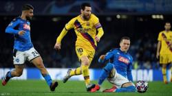كورونا يهدد مصير مباراة برشلونة ونابولي