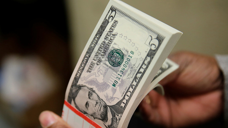 Dollar paces its biggest monthly drop in a decade