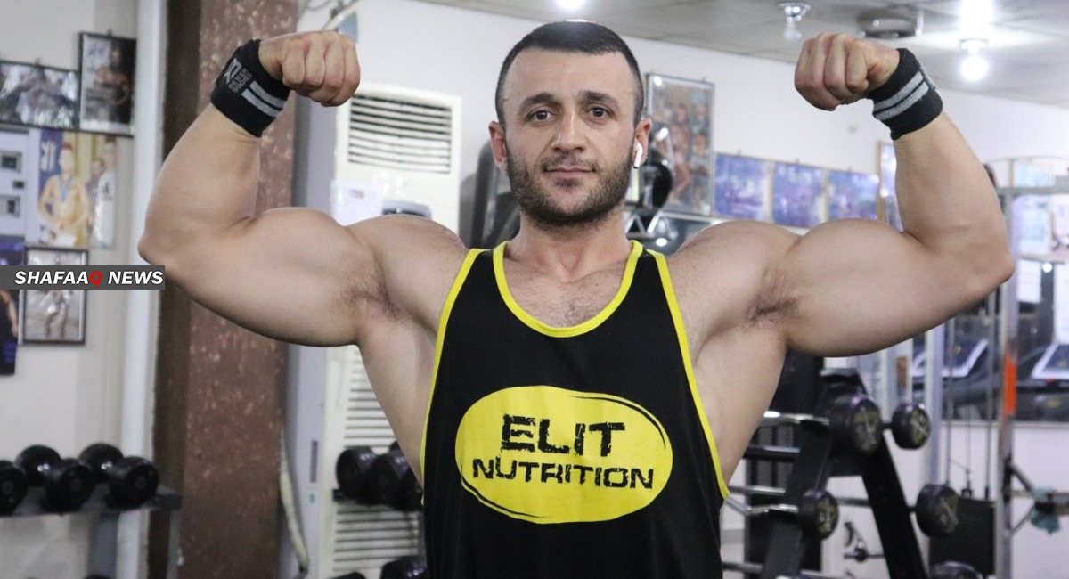 Kurdish athlete to represent Iraq and Kurdistan in an international championship