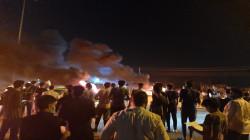 """تظاهرات """"ليلية"""" وإغلاق طرق جنوبي العراق احتجاجاً على قطع الكهرباء"""