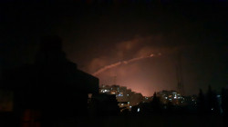 "The Syrian air defense responds to ""hostile targets"" in Damascus' countryside"