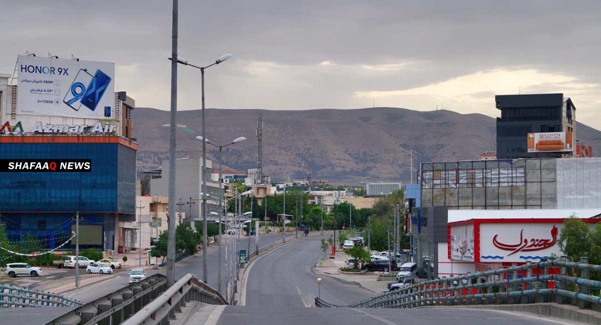 Unidentified bombardment of villages in Al-Sulaymaniyah