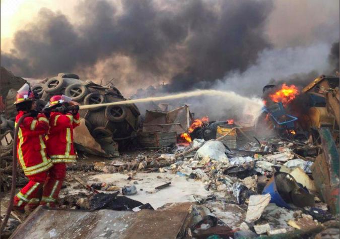 حصيلة أولية لقتلى بيروت.. والأمن الوطني يحدد سبب التفجير