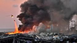انفجار بيروت الكبير.. 100 قتيل وأربعة الاف جريح والمزيد تحت الانقاض