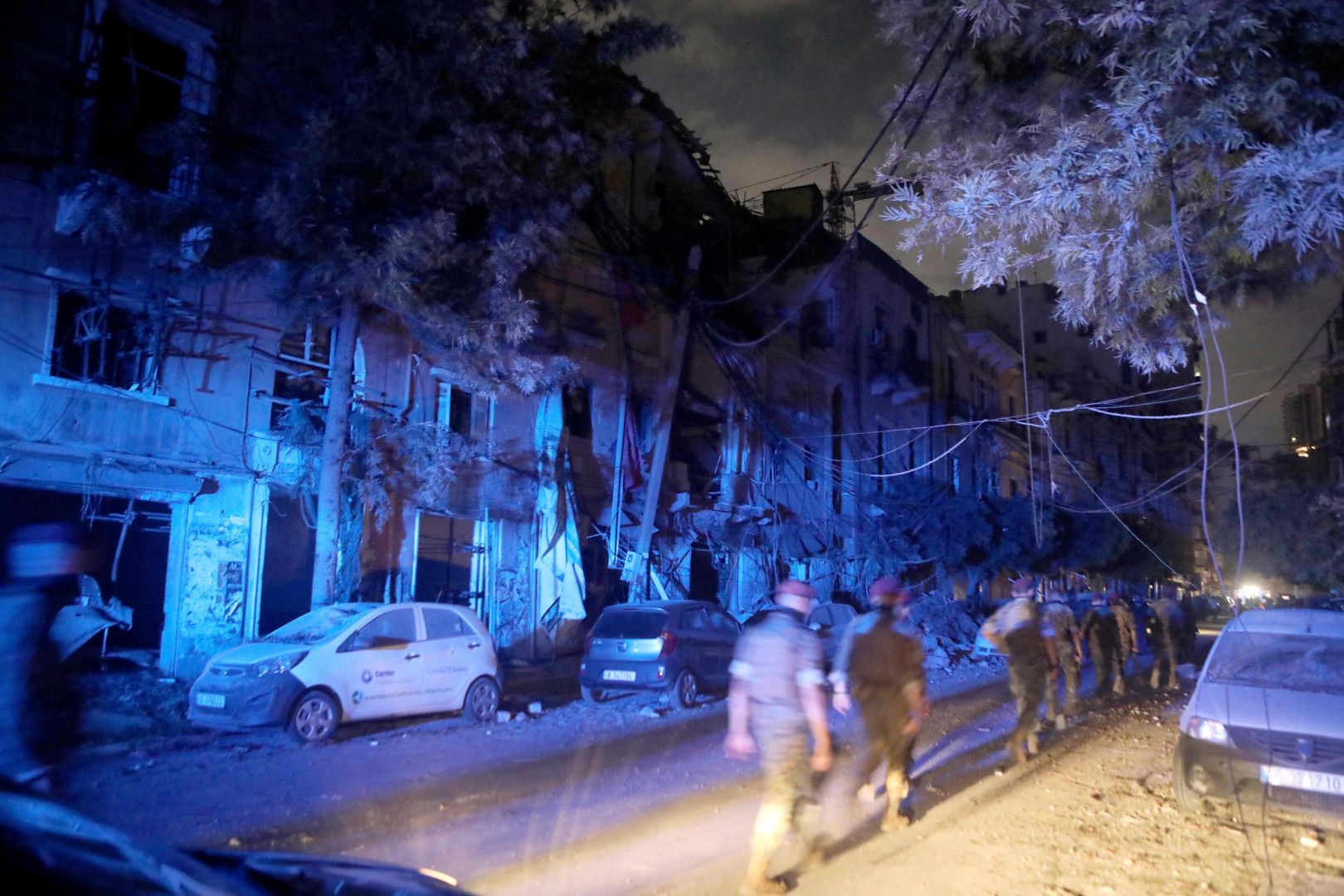 5 billion dollars loss in Beirut blast
